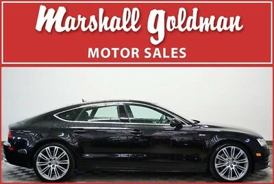 2012 Audi A7  2012 Audi A7 Phantom Black Pearl/Black interior and only 74,887 miles