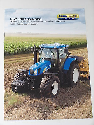 NEW HOLLAND TD4000F Traktoren Prospekt 15//12//2009 NH 103