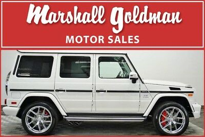 2018 Mercedes-Benz G-Class  2018 Mercedes Benz G65 in designo Mystic White over Black with only 1,400 miles