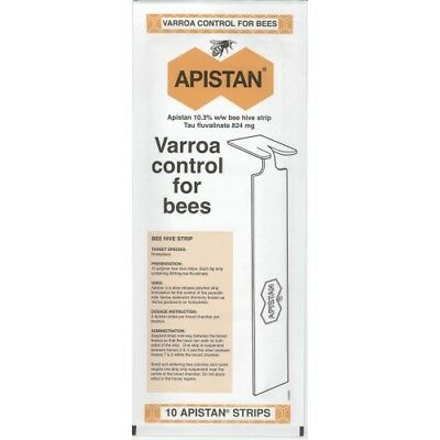 Apistan Varroa Control For Bees (10 pack)