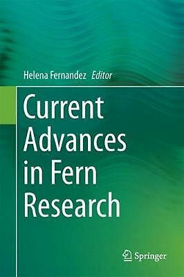 Current Advances in Fern Research Hardcover Book Free Shipping!