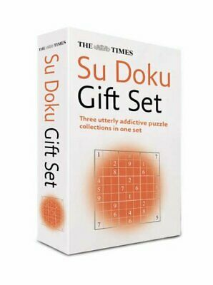 The Times Su Doku Gift Set: The Original Best-selling Puzzle: ... Paperback Book