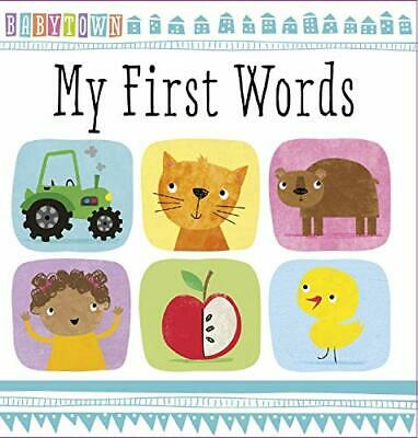 My First Words (Baby Town) by Make Believe Ideas Book The Cheap Fast Free Post