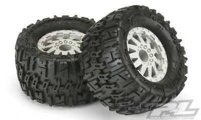 """Pro-Line Trencher 2.8"""" Mounted Tires / Wheels Traxxas Rear Stampede / Rustler"""