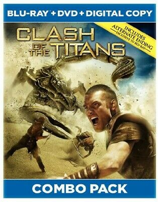 Clash Of The Titans [New Blu-ray] With DVD, Widescreen, Ac-3/Dolby Digital, Di