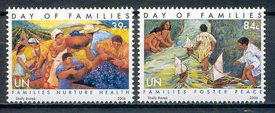 Tag der Familie - UNO-NY - 1020-1021 ** MNH 2006