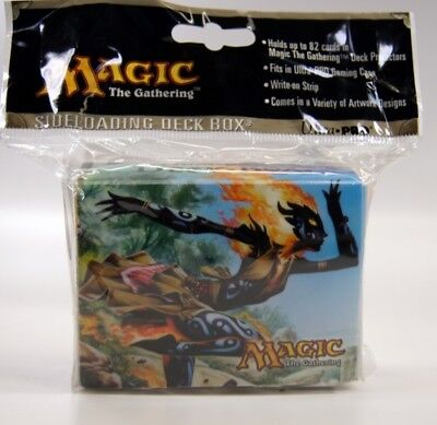 MtG Deck Box Ultra Pro Ash & Flamekin Magic the Gathering