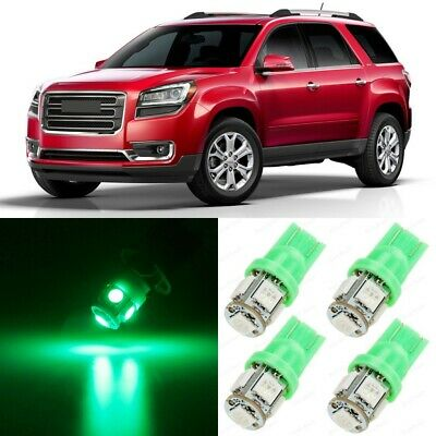 18 x Ultra Green Interior LED Lights Package For 2007 - 2015 GMC Acadia +TOOL
