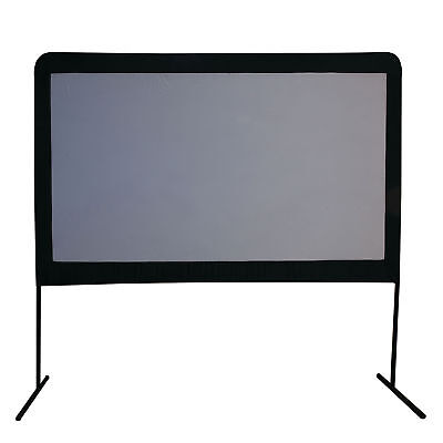"Camp Chef Entertainment Indoor Outdoor 120"" Backyard Movie Projection Big Screen"