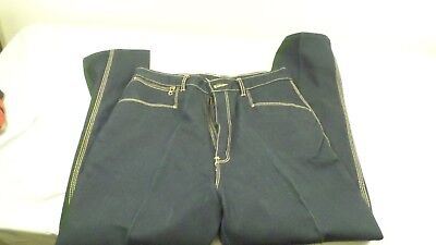 Vintage Gitano Dark Wash Denim Blue Jeans 16 Short
