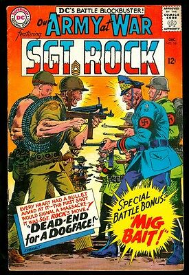 Our Army At War 161 4.5 Vg+ 1965 Dc Kubert Sgt Rock