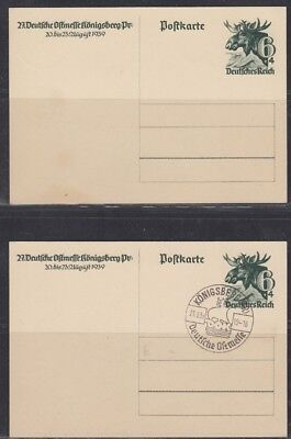 GERMANY, 1939. Post Card P280, Mint-Used