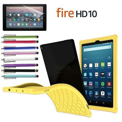Kiddie Shock Proof Silicone Case Cover For All-New Amazon Fire HD 10 2017 tablet