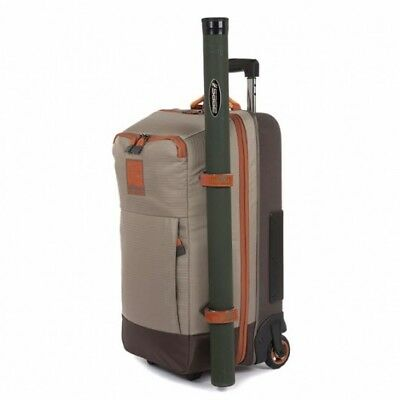 New 2018 Fishpond Teton Rolling Carry-On Fishing Luggage Bag - 45L Capacity