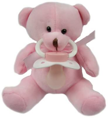 Extra large Pink Teddy pacifier