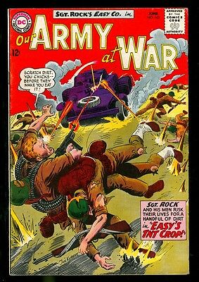 Our Army At War 143 6.0 Fine 1964 Dc Kubert Sgt Rock Easy Company High Grade