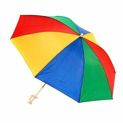 4 Ft 48 Rainbow Pride Clip On Umbrella Chair Beach Pool Picnic 8 Color Panels