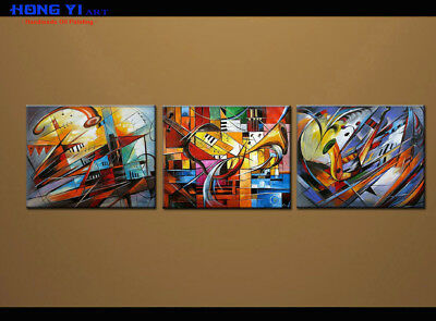 Large MODERN ABSTRACT OIL PAINTING On Canvas Contemporary Wall Art Decor oil141