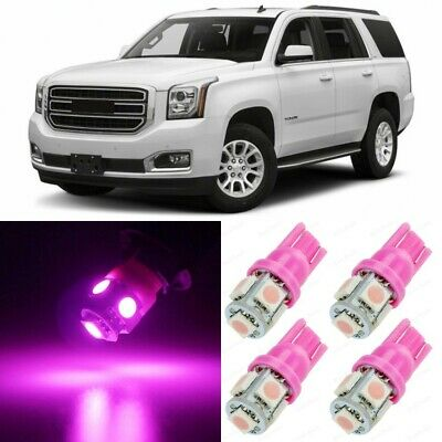 19 x Ultra Pink Interior LED Lights Package For 2007 - 2016 GMC Yukon +TOOL