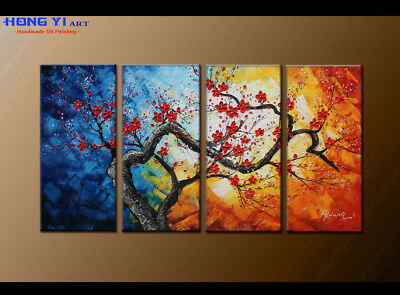 Large MODERN ABSTRACT OIL PAINTING On Canvas Contemporary Wall Art Decor oil081