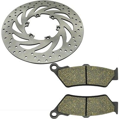 Front Brake Disc Rotor & Brake Pad For BMW F650 F650 ST F650GS 93-09 G650 07-08