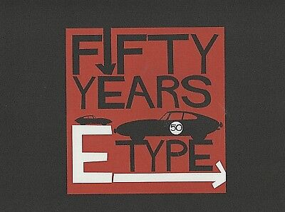 Jaguar E Type 50 Years Mouse Mat Pad New in Packet Official Product JHR 2697