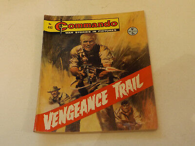 Commando War Comic Number 493!,1970 Issue,v Good For Age,48 Years Old,very Rare.