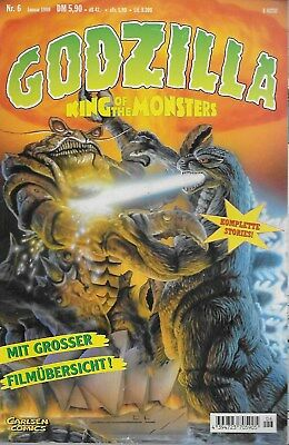 Godzilla King of the Monsters Nr.6 / 1999 Mit grosser Filmübersicht!