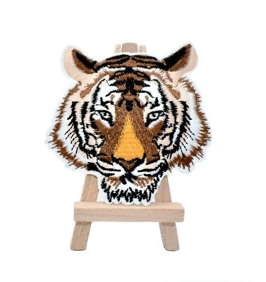 Ecusson brodé thermocollant tigre backpack iron on tiger patch 8,8 cm