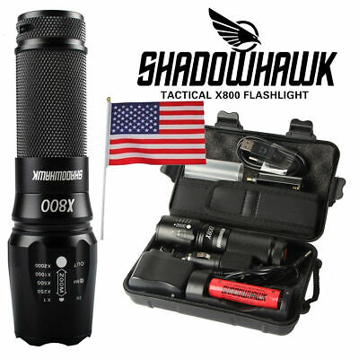 GENUINE 20000lm CREE L2 LED Tactical Flashlight Military Torch