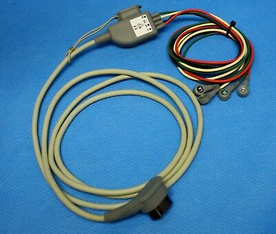 Zoll 8300-0803-01 X Series EKG Trunk Cable w/ 4 Wire Limb Leads for Repair