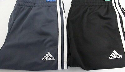 *NEW* Adidas Youth Boy's 3 Three Stripe Active Straight Sweat Pants with Pockets