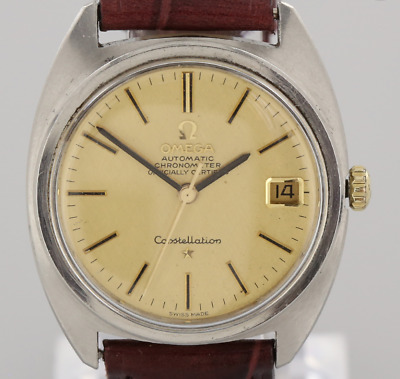 Vintage Omega Chronometer Constellation Stainless Steel Gents Automatic Watch