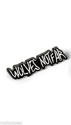 The Walking Dead Official Licensed AMC Enamel Collectible Pin Wolves Not Far New