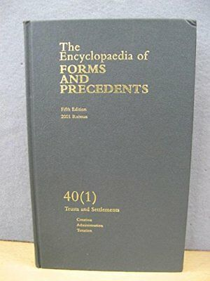 Lord millett encyclopaedia forms precedents abebooks.