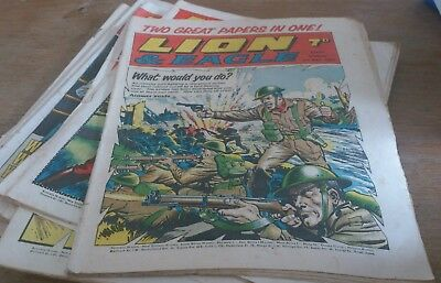 11  Lion Comics 1969, Inc 1St Combined With Eagle.