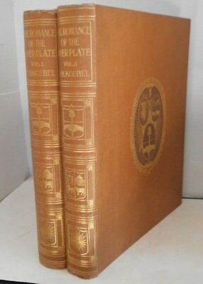 The Romance of the River Plate  WH Koebel vintage color plates 2 vols. 1914