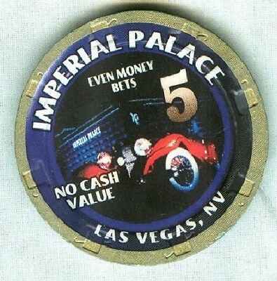 IMPERIAL PALACE CASINO (LAS VEGAS) 5 (NCV) CHIP (SU) (V4688) (TCR 18 RATED H).xl