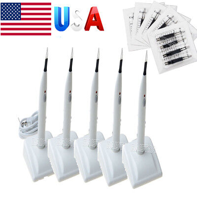 USA 5Kits Dental A-BLADE Ⅱ Gutta Percha Teeth Tooth Gum Cutter & 4 Tips AZDENT