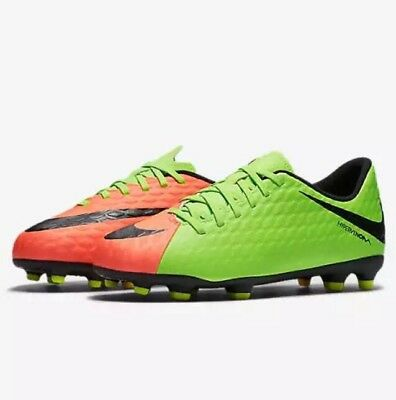 3ea1b4481eba2 NIKE YOUTH JR Hypervenom Phade III FG Soccer Cleats Shoes Sz.5.5Y NEW  852580 308