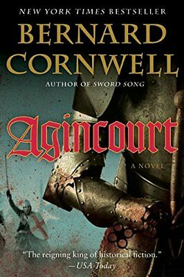 Agincourt by Cornwell, Bernard Book The Fast Free Shipping