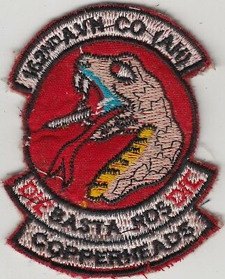 US Army 162 AHC Assault Helicopter Company Patch Copperheads  UH-1 Huey