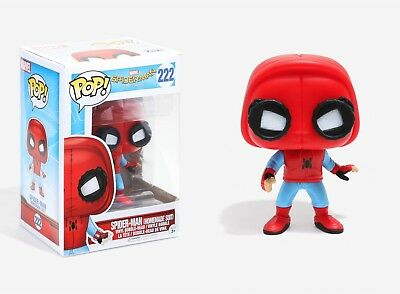 Funko Pop Spider-Man Homecoming: Spider-Man (Homemade Suit) Vinyl Bobble-Head