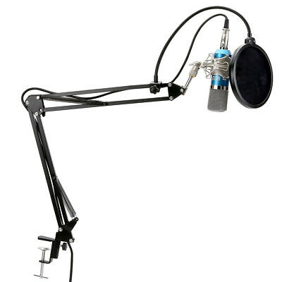 TONOR XRL to 3.5mm Podcasting Studio Recording Condenser Microphone for Computer