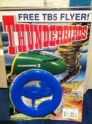 Thunderbirds Redan Comic Issues 25 with free gift Gerry Anderson