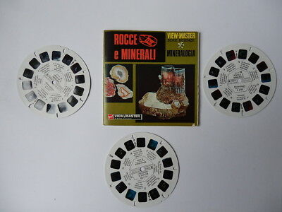 VIEW MASTER viewmaster dischetti ROCCE E MIRALI B 677-I vintage