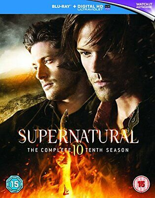 Supernatural - Season 10 [Blu-ray] [2016] [Region Free] - DVD  UMVG The Cheap