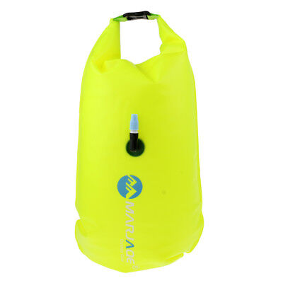 Open Water Swim Buoy Flotation Device Safety Tow Float Dry Bag Storage Pouch