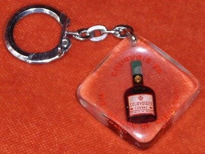 Porte-clés Key chain COGNAC COURVOISIER THE BRANDY OF NAPOLEON BOURBON VERT