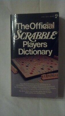 The Official Scrabble Players Dictionary by G c merriam Book The Fast Free